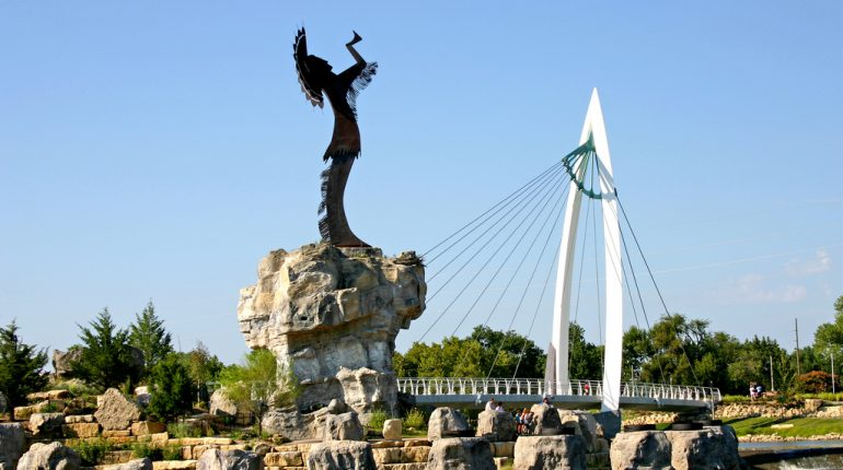 Keeper of the Plains, Wichita, KS