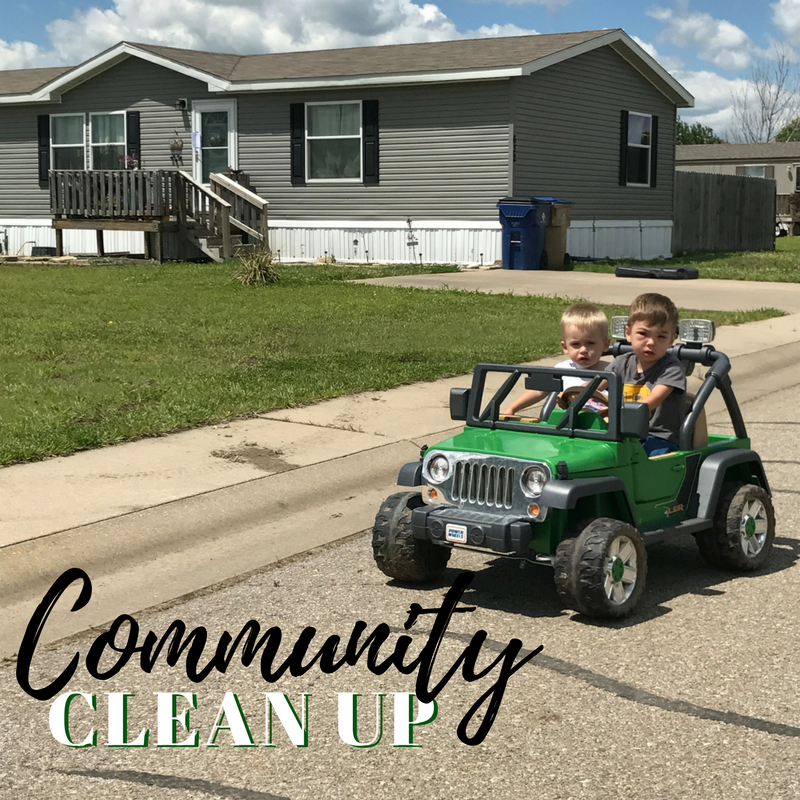 Towanda Community Clean Up, May 2017