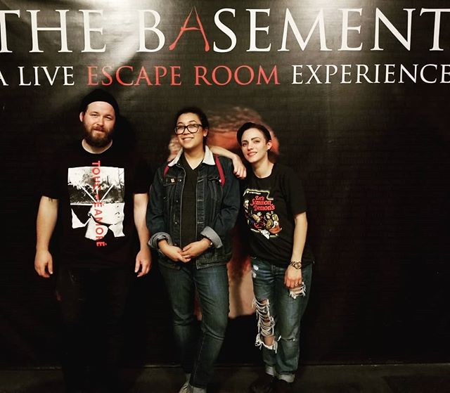The Cromwell Estate and @horrorescapesla ventured over to @thebasementla to try and escape Tandys Elevator Shaft. Unfortunately we did not make it out alive... #thecromwellestate #horrorescapesla #thebasementla #escapegame #escaperoom #horror #80sslasher #la #oc #losangeles #orangecounty #anaheim #goodlife #goodtimes #goodpeople