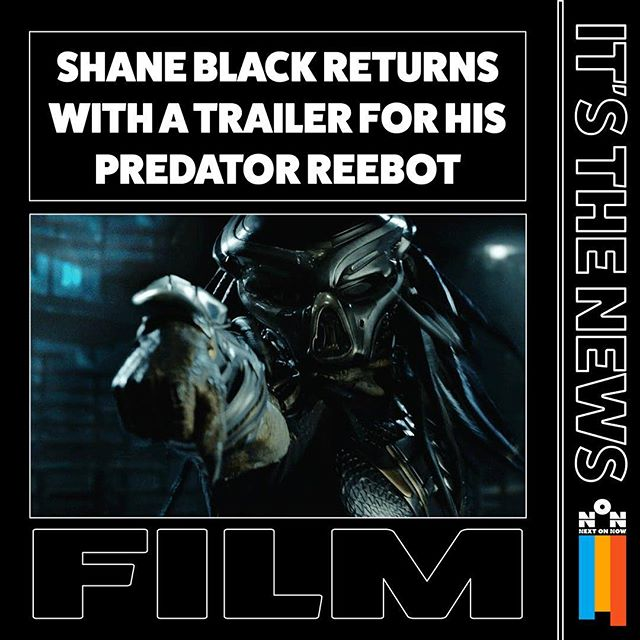 The trailer actually looks pretty good.  #predator #shaneblack #director #film #movietrailer #trailer