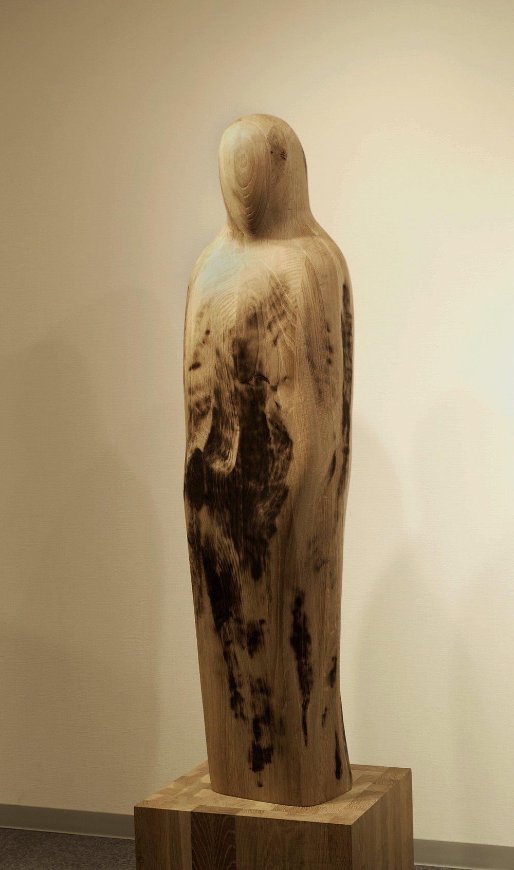 Seion I  White Oak  130 x 26 x 30 cm