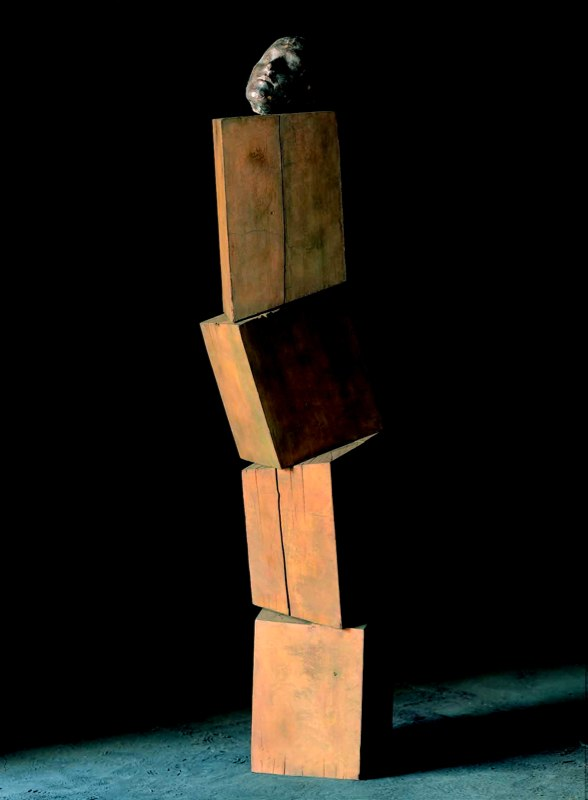 Portrait of Shiori 詩織の肖像  Bronze  ブロンズ  hoto by Mitsumasa Fujitsuka 撮影/藤塚光政