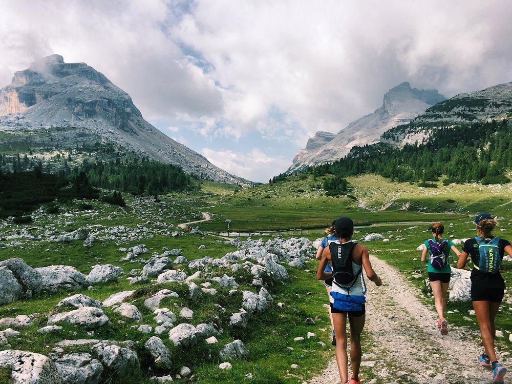 Trail Running Italian Dolomites