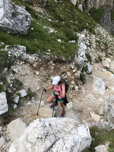 Hut to Hut Trail Running and Hiking in the Italian Dolomites - The following photos are taken by Molly Boyer, who joined us last summer for a hut to hut trail running and hiking adventure in the Italian Dolomites from Lago di Braies to Venice.