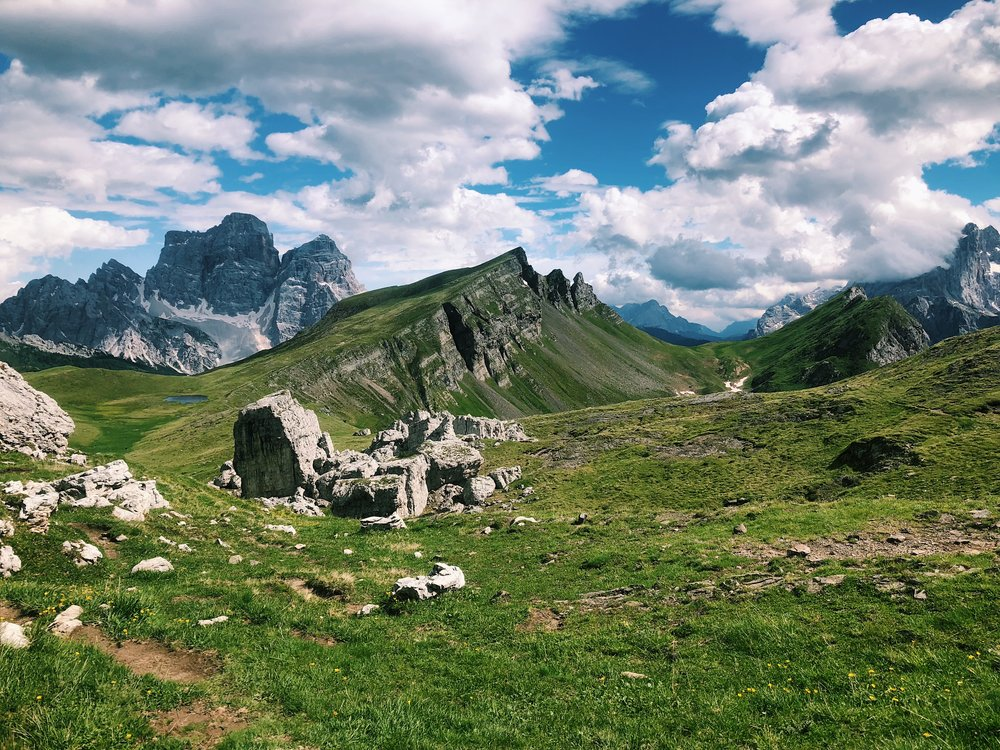 Cortina Trail Forcella Giau