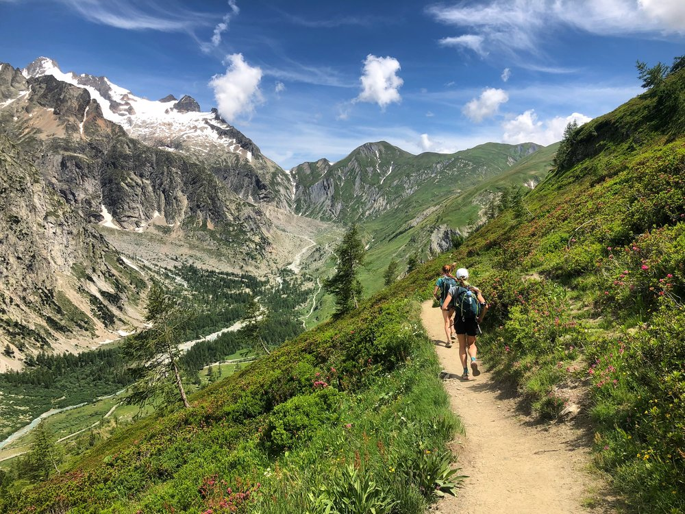 Guided Trail Running Courmayeur Chamonix Mont Blanc