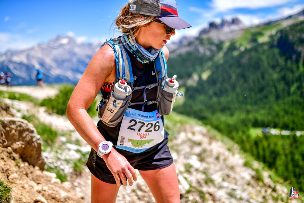 Liz Gill Runcation Travel Dolomites Trail Running