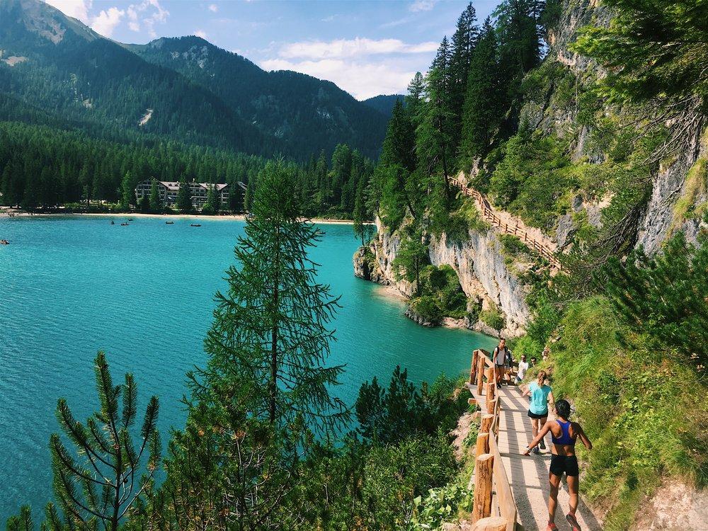 Megha Doshi Lago Di Braies Runcation Dolomites