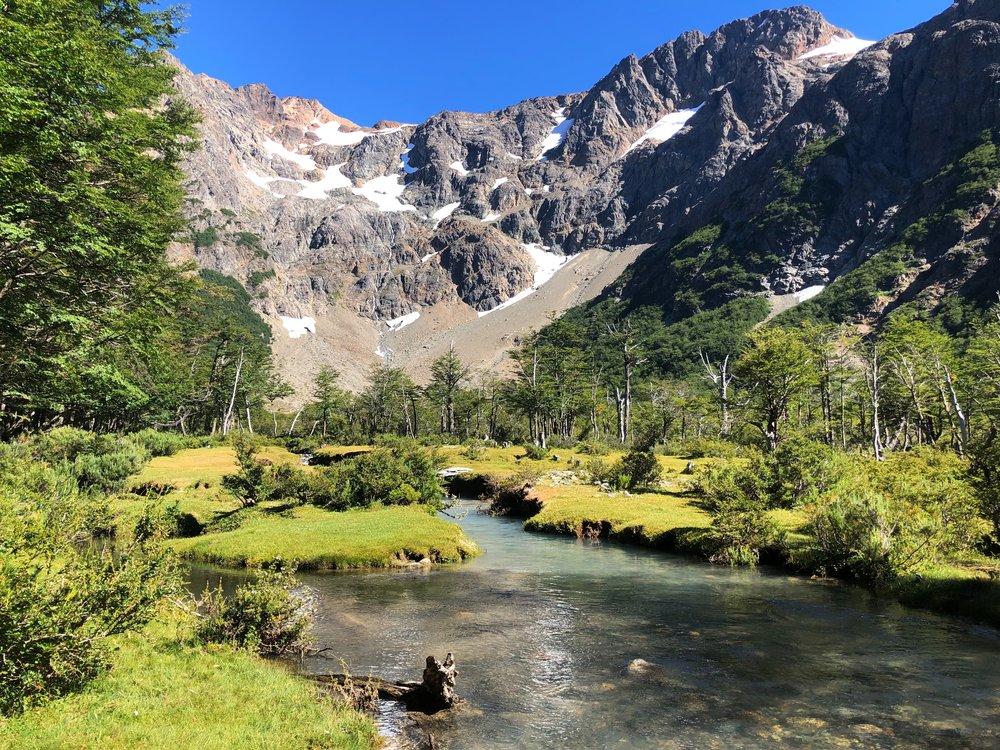 Patagonia Refugio Runcation Trail Running Trip