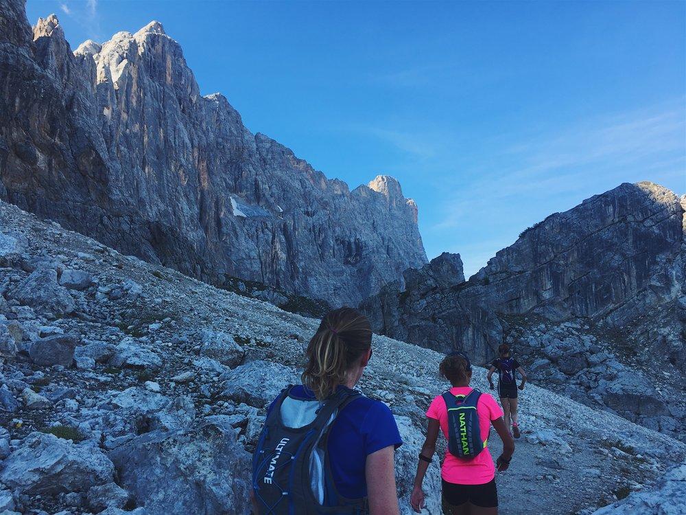 trail running trip italian dolomites runcation