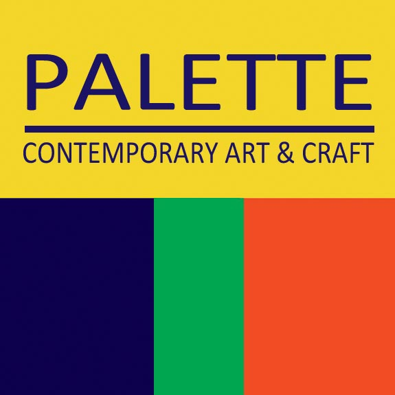 logo for Palette Contemporary Art & Craft in Albuquerque, New Mexico