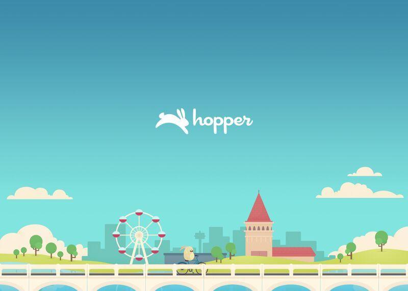 - Hopper is a travel app that helps predict future airfares.