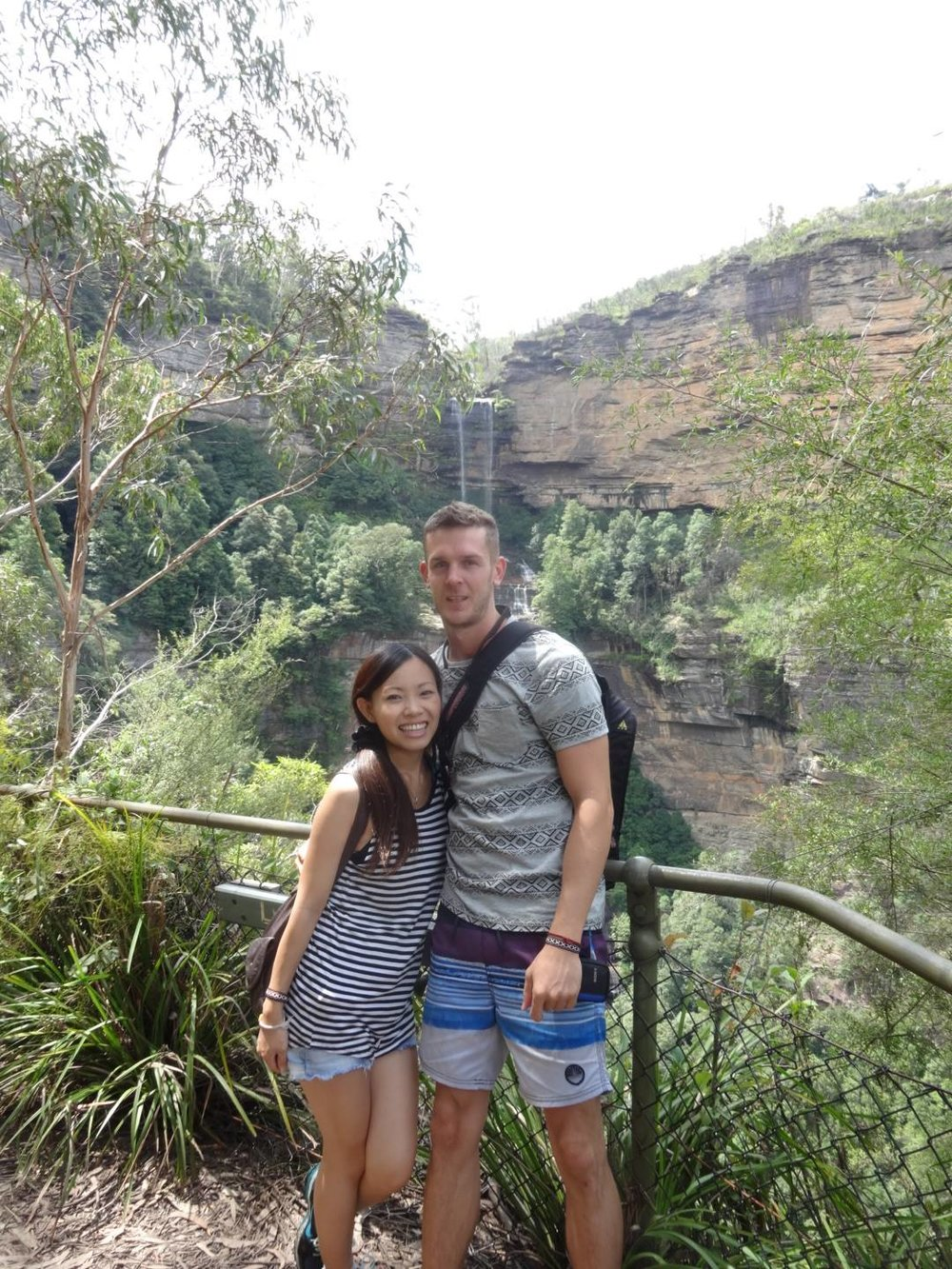 Travelling - I love to travel whenever I get the opportunity. I enjoy meeting new people and experiencing other cultures.This photo is from the Blue Mountains in Australia. Before moving to Japan, I spent a year travelling around Asia and then two years in Australia, which is where I met my amazing wife, Akane.