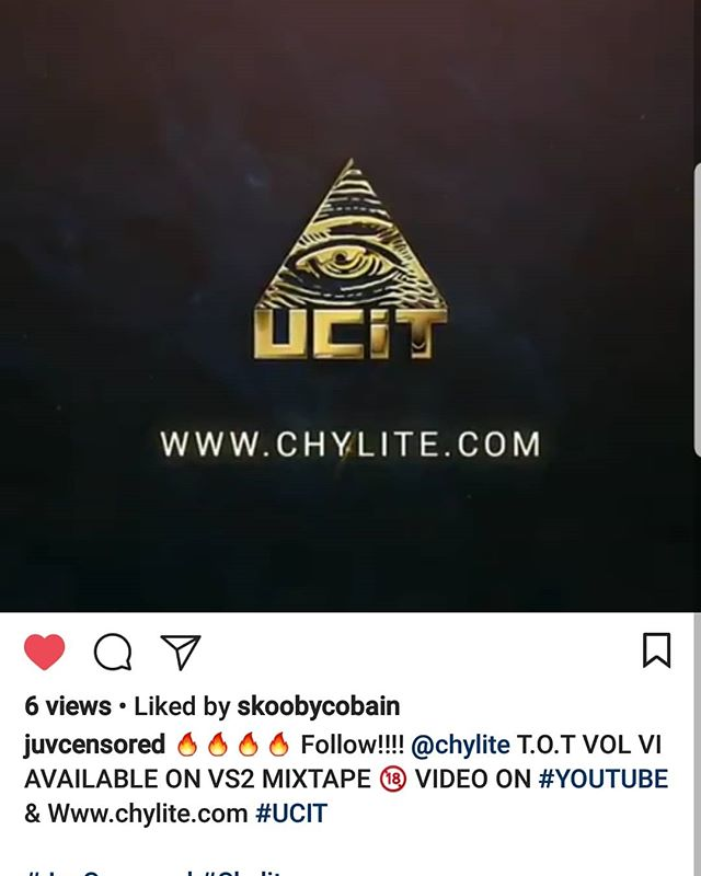 Shout out to @juvcensored cause without pay, coercion, or even request he giving me the #ShoutOut..... #Salute Question is how many of ya friends who say they support you do the same? Not my homies. Some of my supporters got the pyramid inked before me! #UCiT