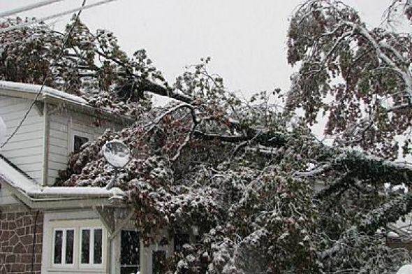 Northborough, ma area winter storm wind damage insurance claim.