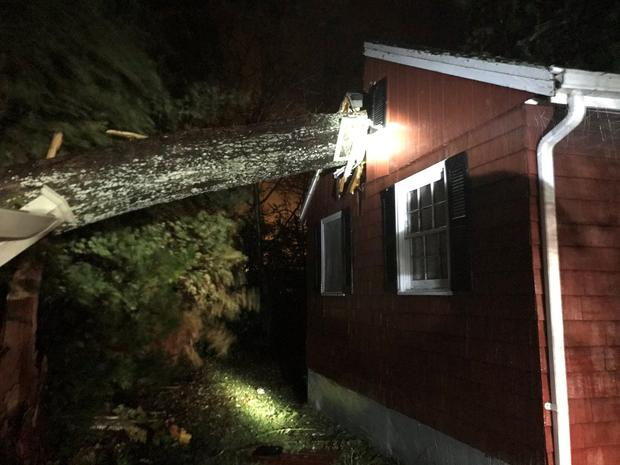 Mattapoisett, ma area wind storm roof damage insurance claim.