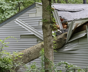Rochester, ma area wind storm roof damage insurance claim.
