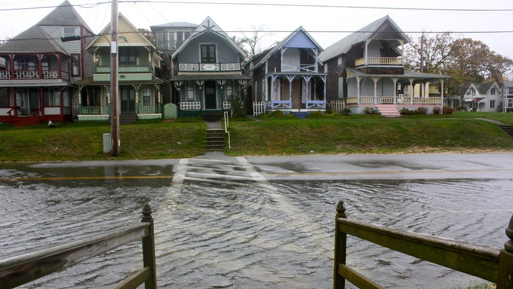 Oak Bluffs, ma area winter storm flooding insurance claim.