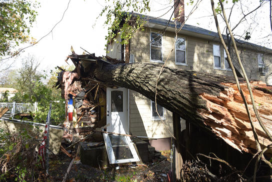 Haverhill, ma wind storm damage insurance claim.