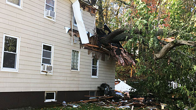 Lynn, ma wind storm damage insurance claim.