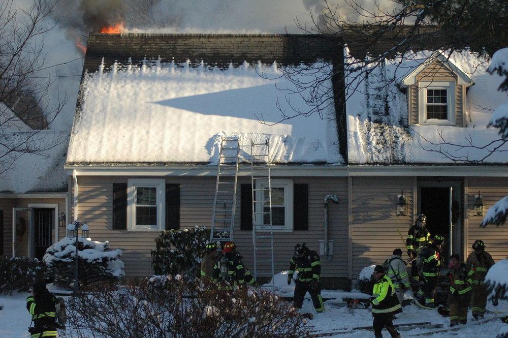 Rowley, ma insurance claim for a house fire.
