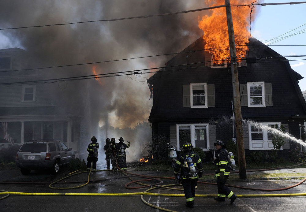 Swampscott, ma insurance claim for house fire.