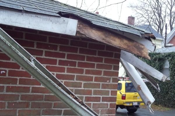 Easton MA wind damage claims