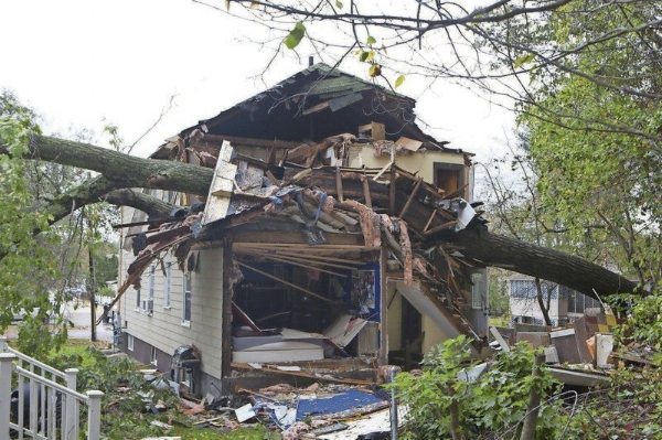 Middleton MA major structural damage claim