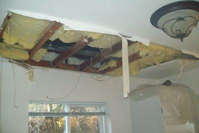 Recent Hanover NH pipe burst damage claim