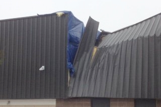 Hanover NH roof collapse claim