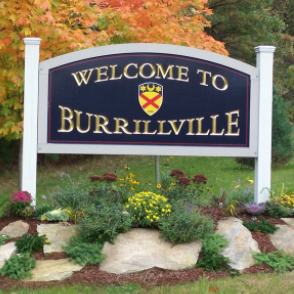 burrillville, RI is located in northwest rhode island.