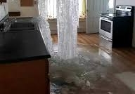 Recent Foster RI pipe burst water claim