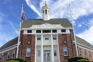 town hall of johnston, rhode island