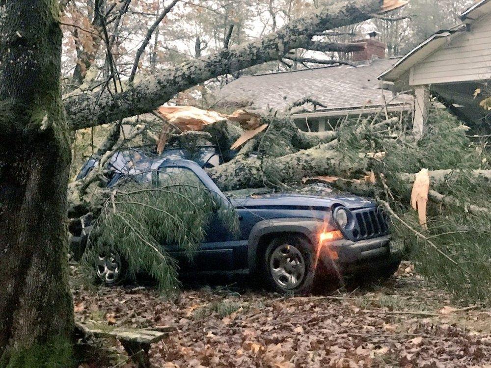 Recent Kennebunk ME roof damage claim