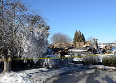 Recent New Castle NH major fire damage claim