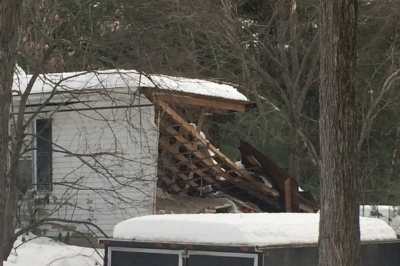 Recent Litchfield NH roof damage claim