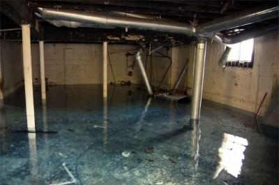 Recent Litchfield NH pipe burst water claim