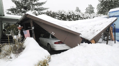 Recent Amherst NH roof damage claim