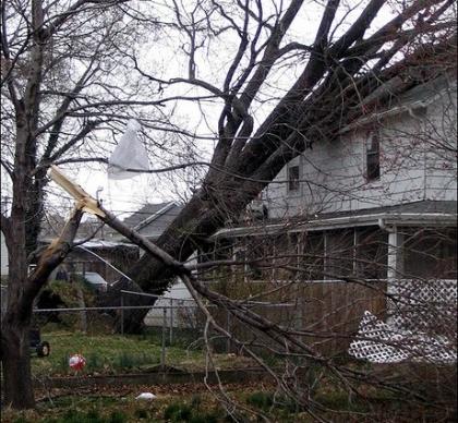 Recent Union CT roof damage claim