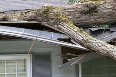 Recent Killingly CT roof damage claim