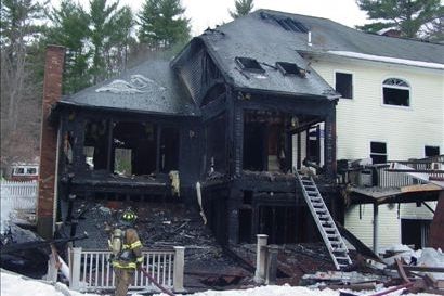 Recent Nashua NH house fire damage claim