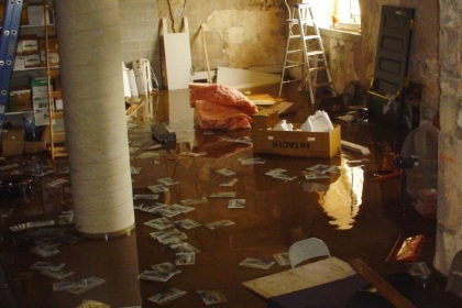 Recent Keene NH pipe burst water damage claim