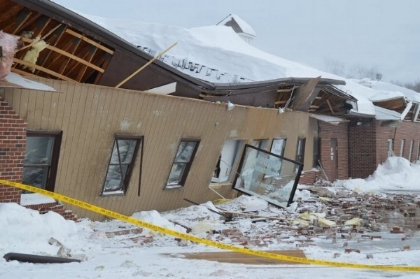 Bedford NH roof collapse claim
