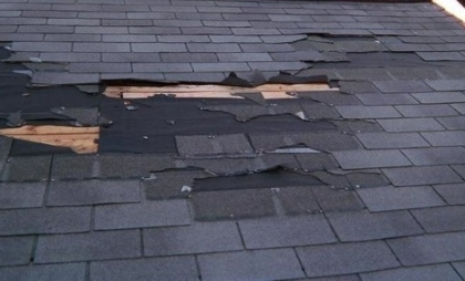 Recent Beverly MA claim wind damage claim