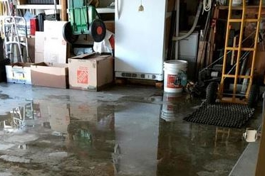 Recent Bedford MA pipe burst insurance claim