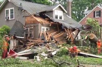 Recent Lexington MA roof collapse insurance claim