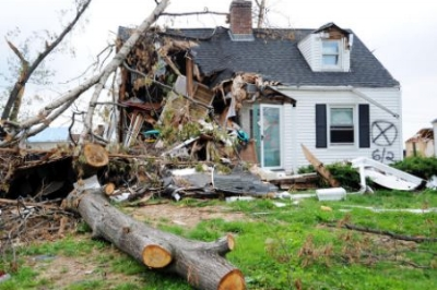 Springfield MA Hurricane Bob roof damage claim