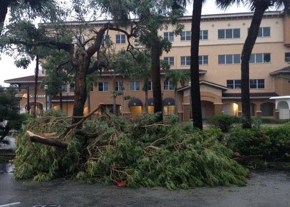 Fort Pierce FL hurricane wind home damage insurance claims
