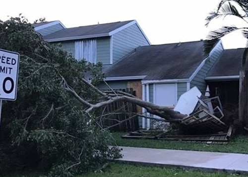 Coral Springs FL hurricane wind home damage insurance claims