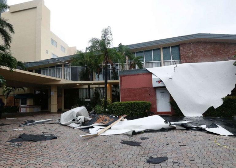 Juno Beach FL business hurricane damage insurance claims